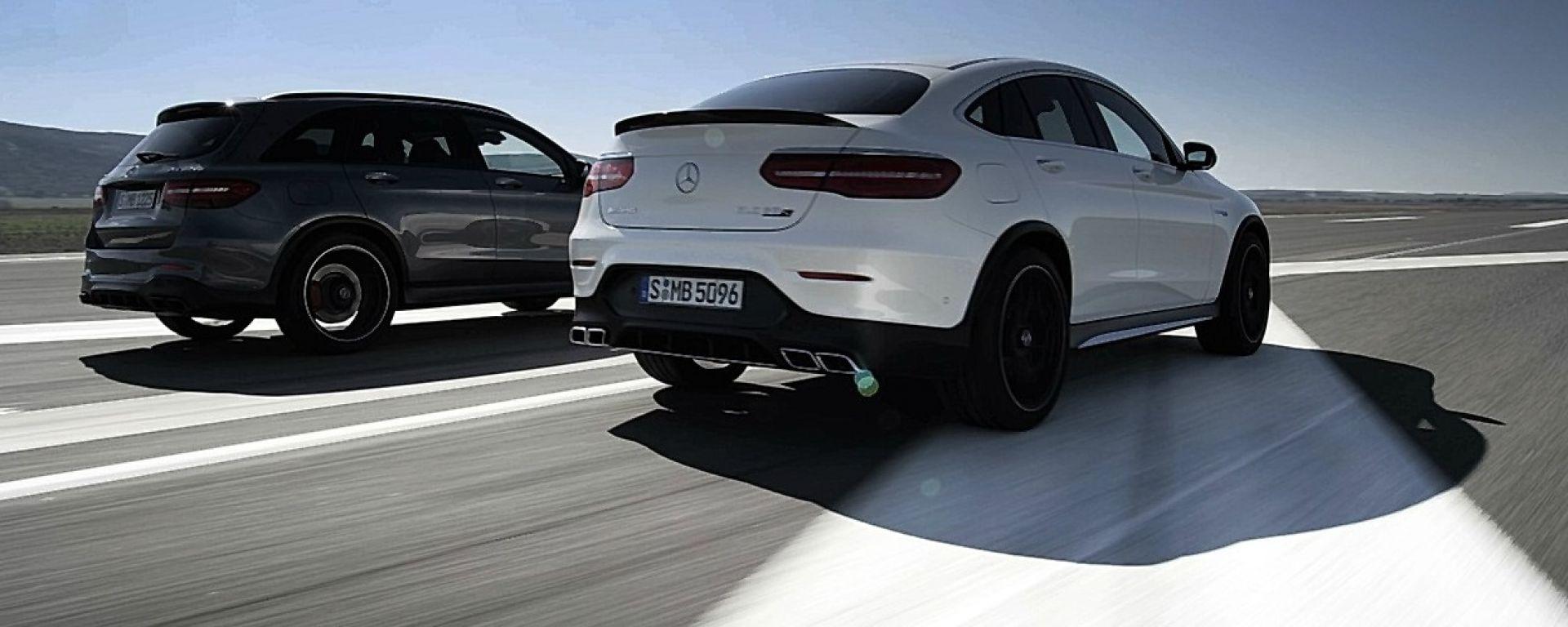 Mercedes-AMG GLC 63 4MATIC+ e Coupé: ora c'è il video