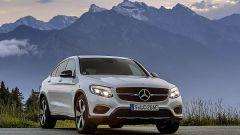 Mercedes GLC Coupé: anche la mascherina a lamella singola è un segno distintivo