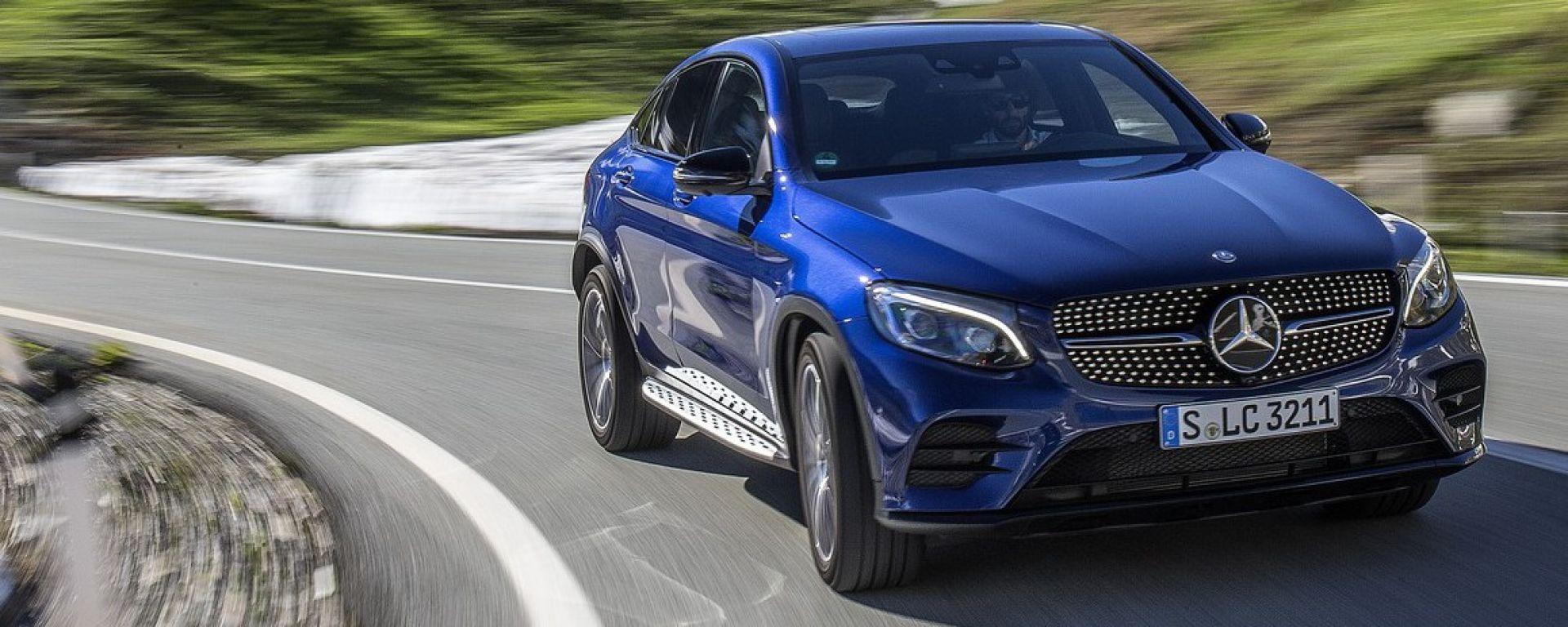 Mercedes GLC Coupé: la prova