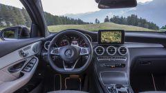Mercedes GLC Coupé: gli interni