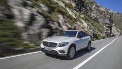 Mercedes GLC Coupé: ha di serie il 4Matic e il cambio 9G Tronic