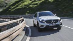 Mercedes GLC Coupé: ha di serie l'assetto sportivo e uno sterzo più diretto