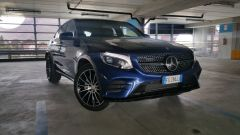 Mercedes GLC Coupé: il frontale sportivo del pack AMG