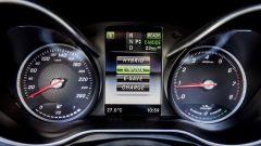 Mercedes GLC Coupé: la strumentazione