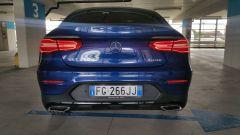 Mercedes GLC Cuopé: la vista posteriore