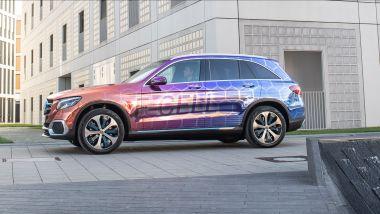 Mercedes GLC F-Cell, fine della corsa