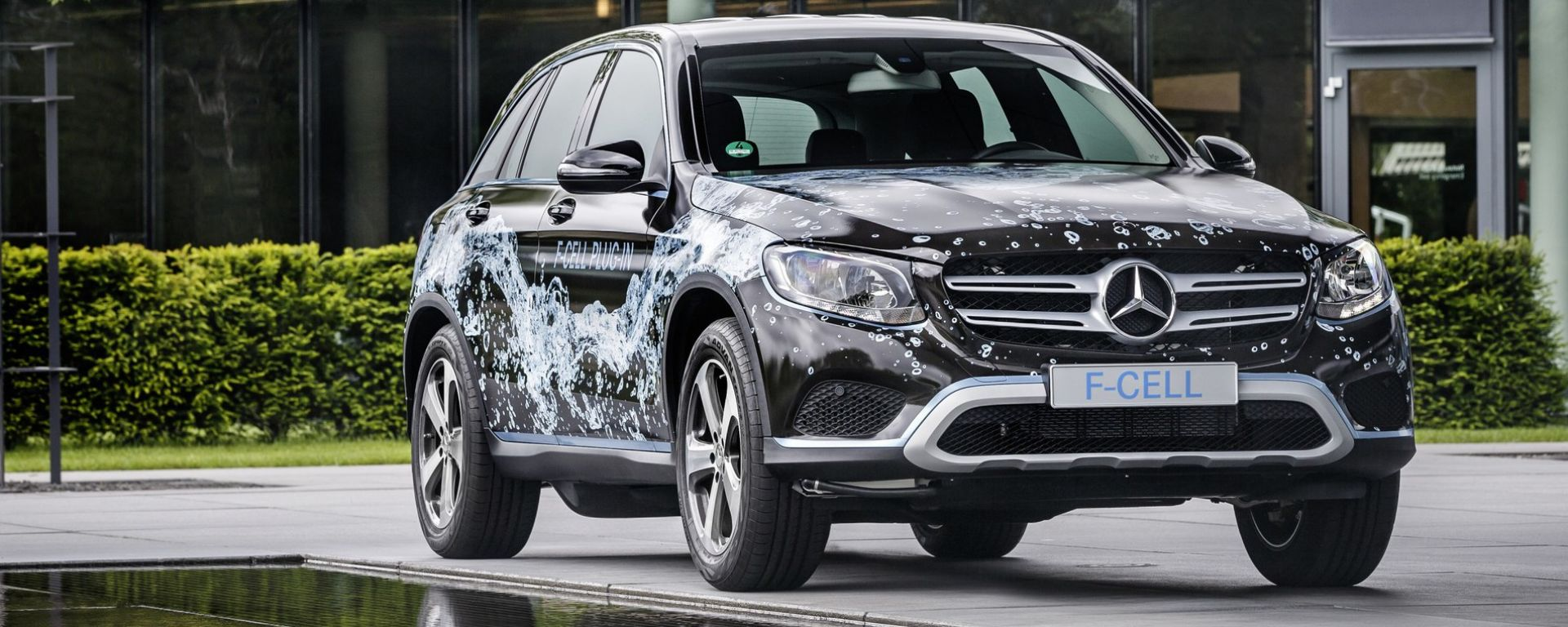 Tecday mercedes glc f cell a idrogeno e plug in arriva for Mercedes benz fuel cell