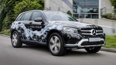 Mercedes GLC F-Cell: vista 3/4 anteriore