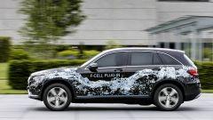 Mercedes GLC F-Cell: vista laterale del SUV a idrogeno