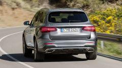 Mercedes GLC, vista posteriore