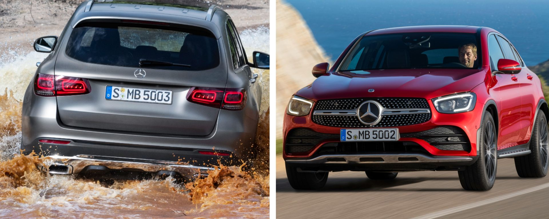 Mercedes GLC vs Mercedes GLC Coupé
