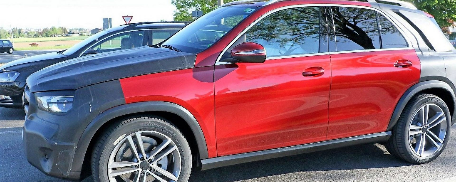 Mercedes GLE 2019, una delle prime foto spia