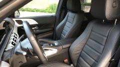 Mercedes GLE 350 de 4Matic: i sedili anteriori con regolazioni elettriche