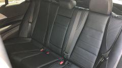 Mercedes GLE 350 de 4Matic: il divanetto posteriore