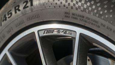 Mercedes GLE 350de EQ POWER 4MATIC, dettaglio del cerchio