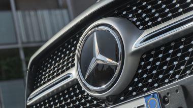 Mercedes GLE 350de EQ POWER 4MATIC, i sensori nella calandra