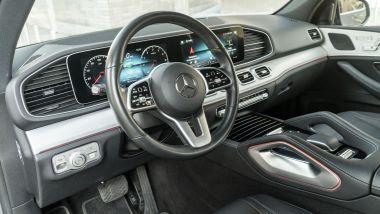 Mercedes GLE 350de EQ POWER 4MATIC, la plancia
