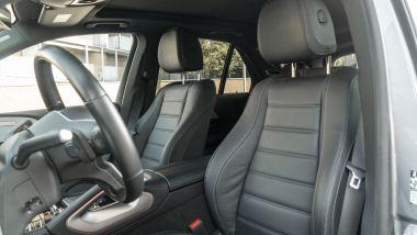 Mercedes GLE 350de EQ POWER 4MATIC, la posizione di guida
