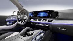 Mercedes GLE 580: particolare degli interni