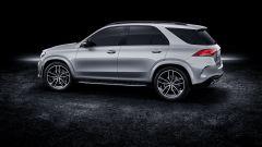 Mercedes GLE 580: vista 3/4 posteriore
