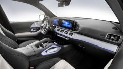 Mercedes GLE 580: vista abitacolo