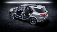 Mercedes GLE 580: vista laterale