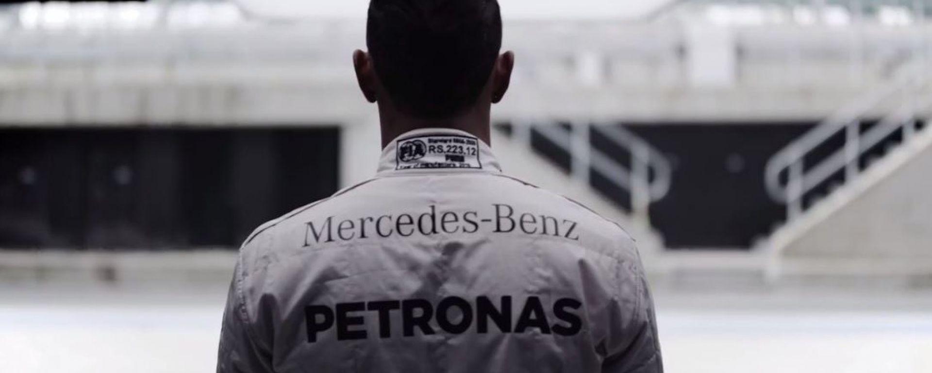 Mercedes GLE Coupé, così la guida Hamilton