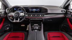 Mercedes GLE Coupé: gli interni