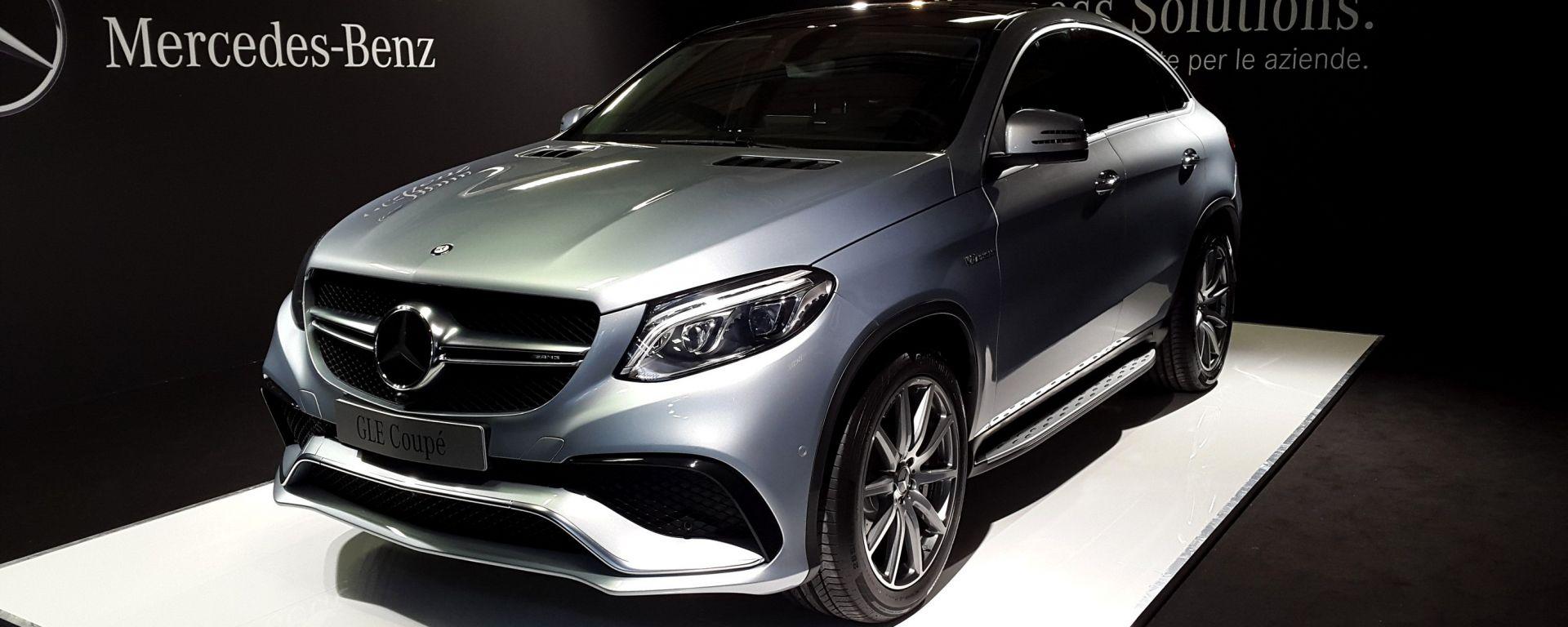 Mercedes GLE Coupé: il primo contatto