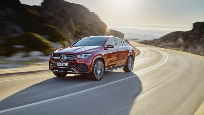 Mercedes GLE Coupé: vista anteriore
