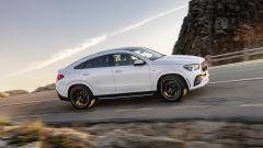 Mercedes GLE Coupé: vista laterale