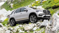 Mercedes GLE offroad