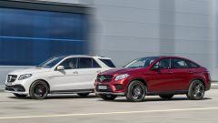 Mercedes GLE vs GLE Coupé  - Immagine: 1