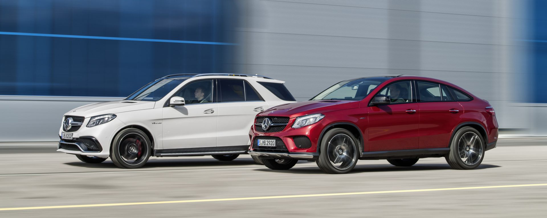 Mercedes GLE vs GLE Coupé