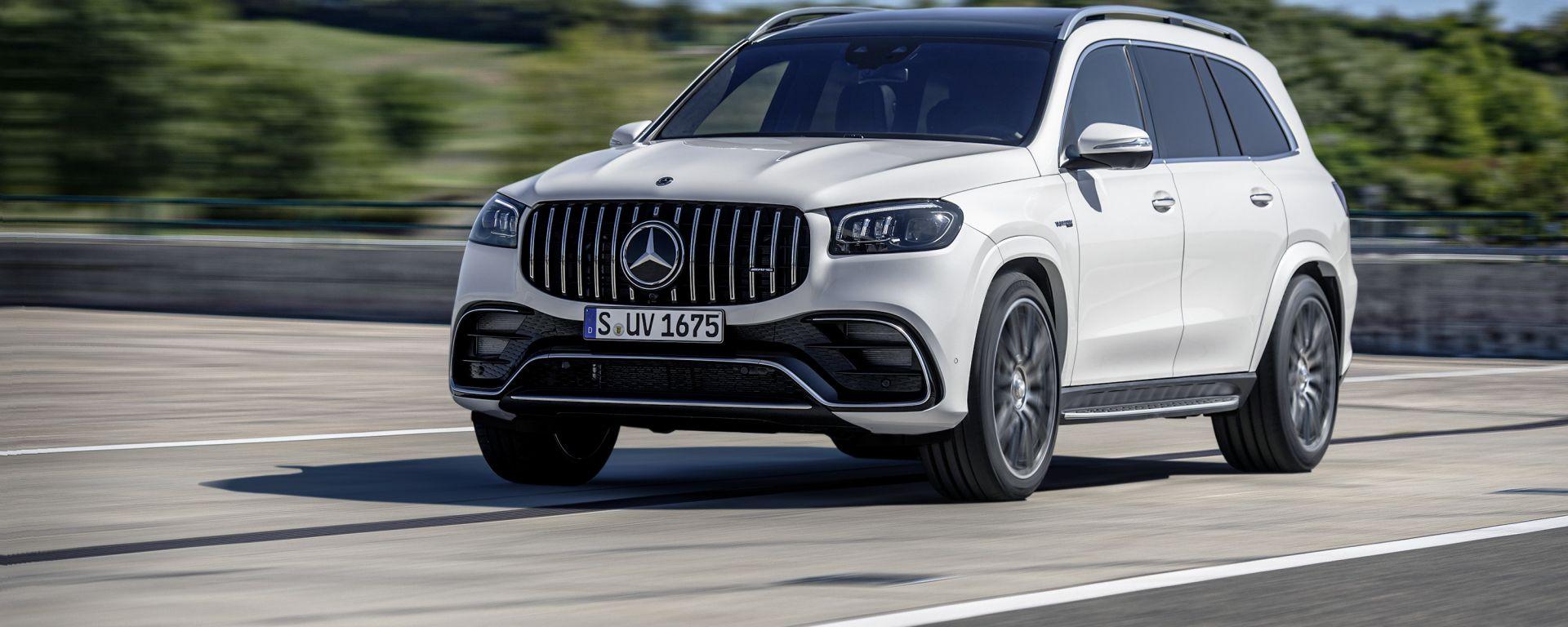 Mercedes GLS e GLE AMG: entrano a listino i SUV sportivi tedeschi. La GLS 63 AMG