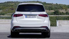 Mercedes GLS e GLE AMG: la coda mastodontica della GLS 63 AMG