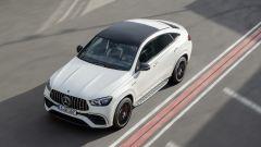 Mercedes GLS e GLE AMG: la versione GLE coupé vista dall'alto