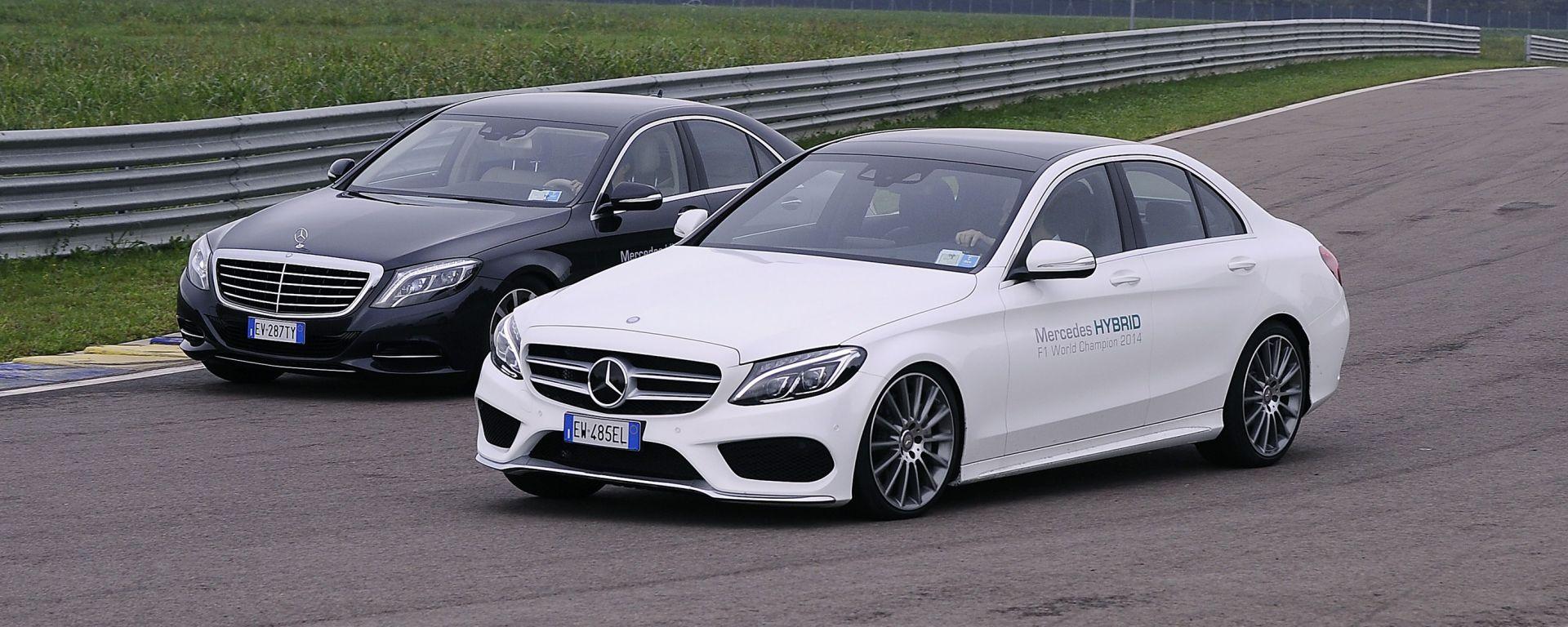 Mercedes: ibride alla (ri)scossa