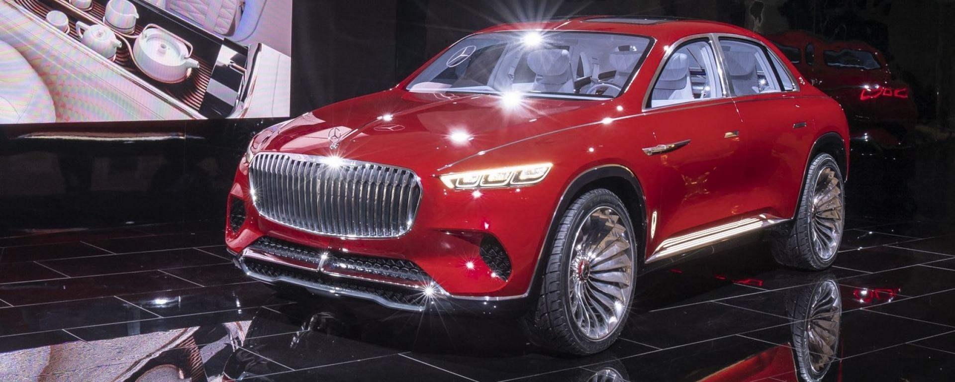 Maybach: ecco il SUV di lusso definitivo