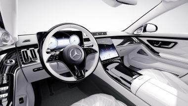 Mercedes-Maybach Classe S Edition 100, il posto di guida