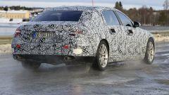 Mercedes-Maybach Classe S: vista 3/4 posteriore