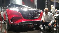IAA 2021: Mercedes-Maybach EQS, il SUV elettrico nel video live