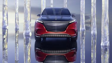 Mercedes-Maybach EQS: frontale