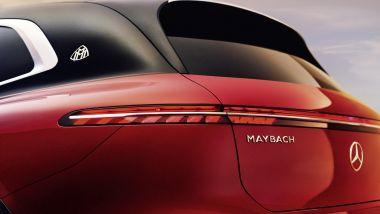 Mercedes-Maybach EQS: il montante posteriore