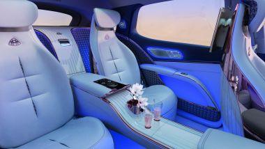 Mercedes-Maybach EQS: interni