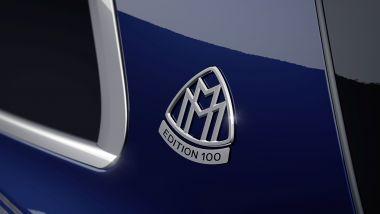 Mercedes-Maybach GLS Edition 100, il badge sul montante posteriore