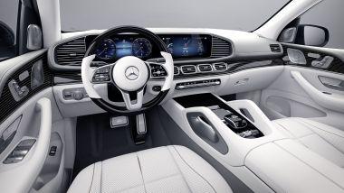 Mercedes-Maybach GLS Edition 100, il posto di guida
