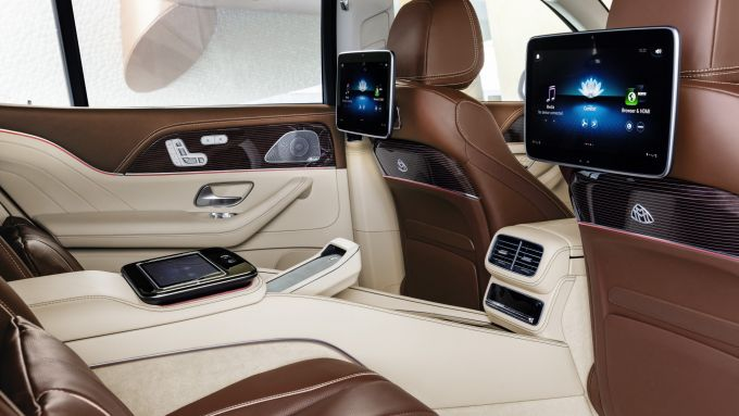 Mercedes-Maybach GLS, gli interni