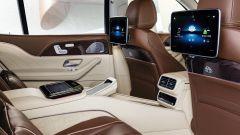 Mercedes-Maybach GLS, il divano posteriore
