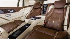 Mercedes-Maybach GLS, sedili posteriori reclinabili